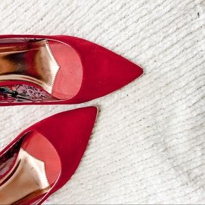 Ted Baker Red Pumps